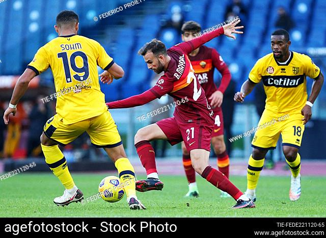 Borja Mayoral (Roma) during the match , Rome, ITALY-22-11-2020