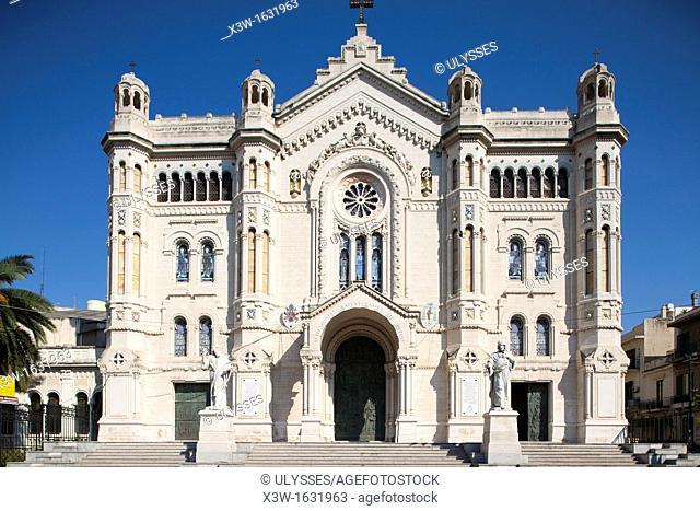 cathedral, reggio calabria, calabria, italy, europe