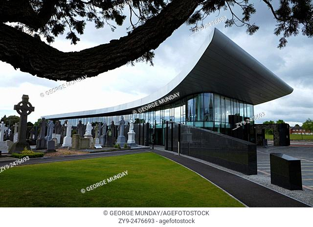 The new Museum and Visitors Centre at Glasnevin Cemetry, Dublin City, Ireland