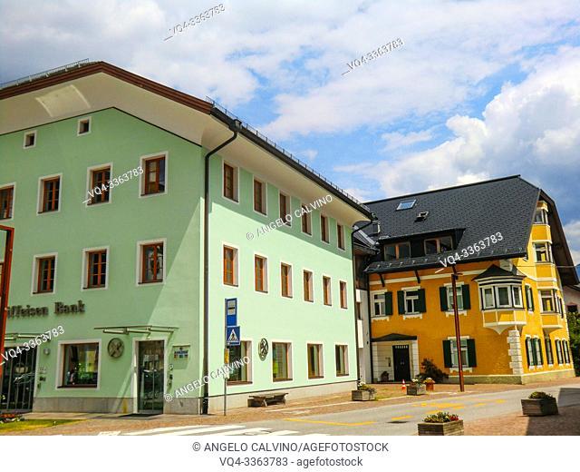 Innichen, Historic centre, San Candido, Province of South Tyrol, Trentino-Alto Adige, Italy, Val Pusteria