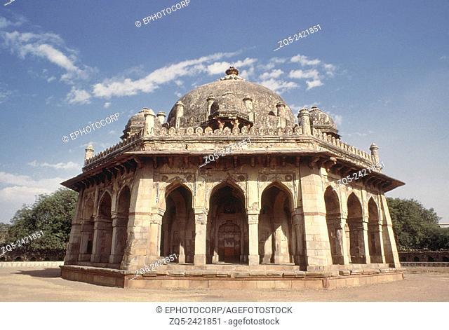 Bara Darwaza, (west entrance into Purana Qal'a), attributed to Sher Shah Suri. Dated: Lodi period, 1540-45 A.D. Delhi, India