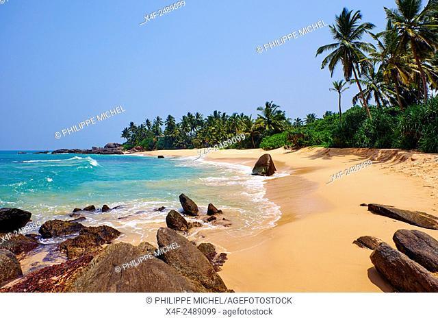 Sri Lanka, South West Coast, Ambalangoda, beach