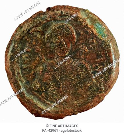 Seal of Grand prince Yaroslav the Wise by Ancient Russian Art /Bronze/Old Russian Art/1037-1050/Russia/State Open-air Museum Rostov Kremlin, Rostov/History