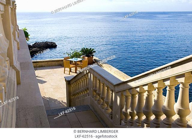 Palma, Hotel Maricel, terrace, Majorca, Spain