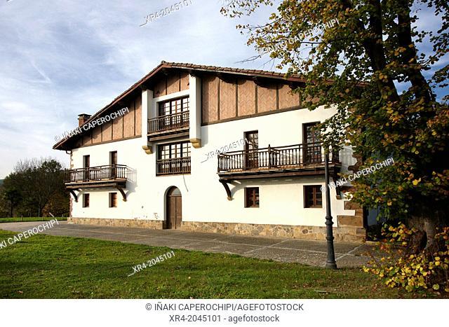 Oianguren Park, Ordizia, Goierri, Gipuzkoa, Basque Country, Spain