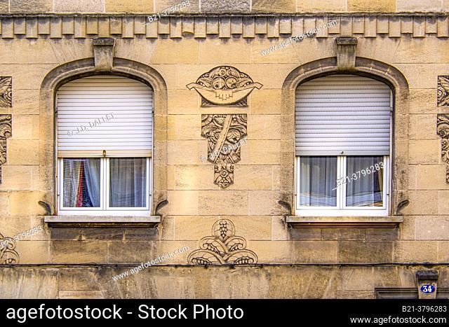 France, Nouvelle Aquitaine, Gironde,  House buildt aroune 1920 at Bordeaux