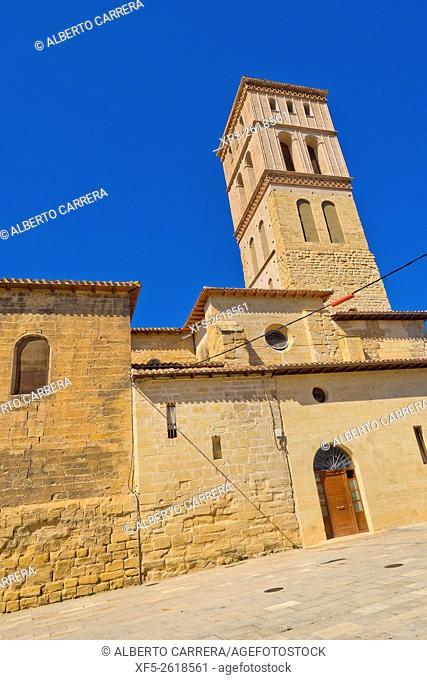 Mudejar Tower, Church of San Bartolomé, Oldest Church of Logroño, Spanish Property of Cultural Interest, Spanish Historic Heritage, Logroño, La Rioja, Spain