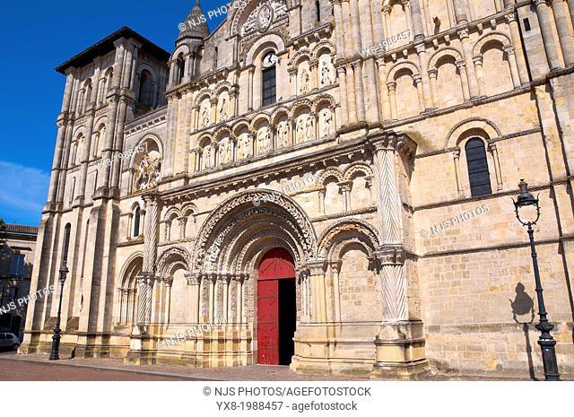 'Sainte Croix' church, (XIIc. former benedictine cluster), Bordeaux, Gironde, Aquitaine, France, Europe