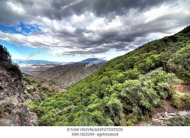 Landscape near Sapara Monastery, Samtskhe-Javakheti, Georgia
