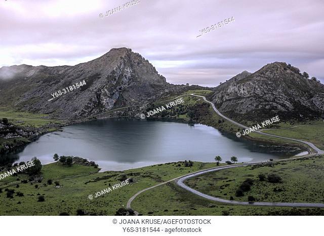 Lakes of Covadonga, Asturias, Spain, Europe