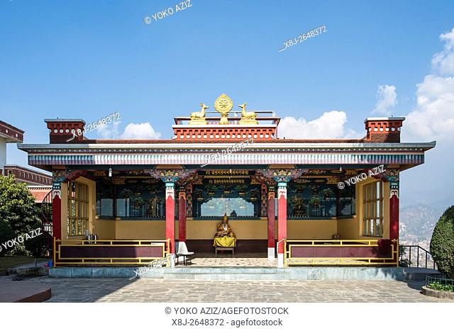 Nepal, Kopan monastery