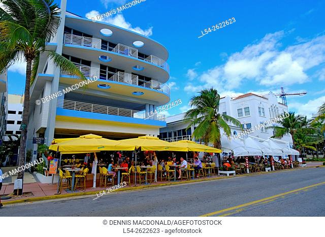 Miami Beach Florida FL Art Deco Ocean Drive South Beach