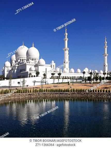 United Arab Emirates, Abu Dhabi, Sheikh Zayed bin Sultan al-Nahyan Mosque