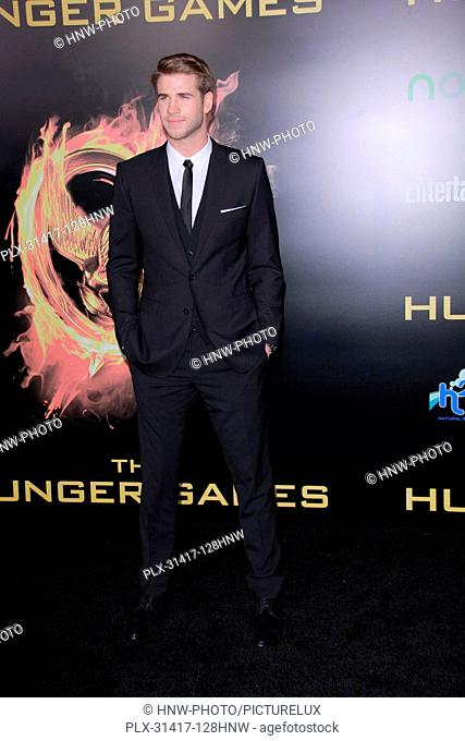 Liam Hemsworth 03/12/2012 The Hunger Games Premiere held at Nokia Theatre L.A. Live in Los ngeles, CA Photo by Izumi Hasegawa / HollywoodNewsWire