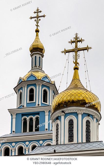 The Cathedral of the Assumption of the Virgin, Tashkent, Uzbekistan