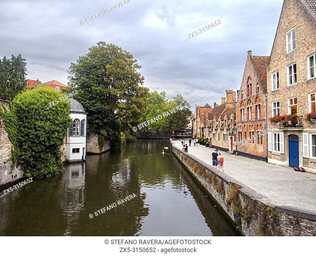 Gronerei canal - Bruges, Belgium