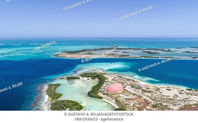 Isla Agustín Aerial View Los Roques - Venezuela