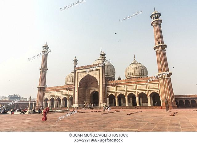Jama Majid mosque. Delhi. India