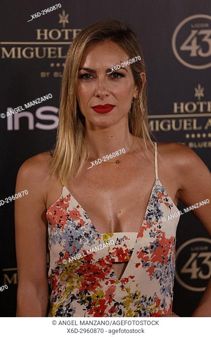Kira Miro attends el jardin de Miguel Angel and In Style beauty night in Madrid, May, 24, 2017 (Photo by Angel Manzano).