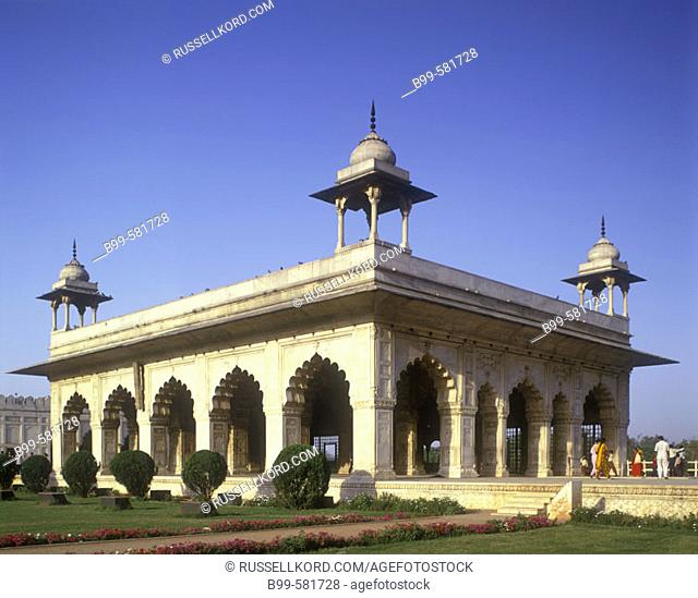 Hall Of Private Audience, Red Fort, New Delhi, India