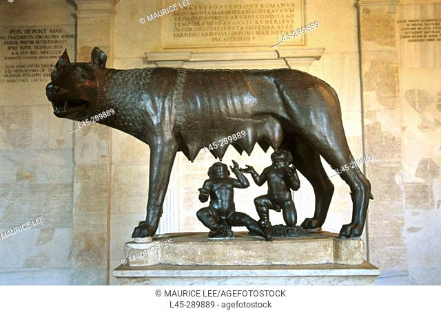 Capitoline Wolf. Rome. Italy