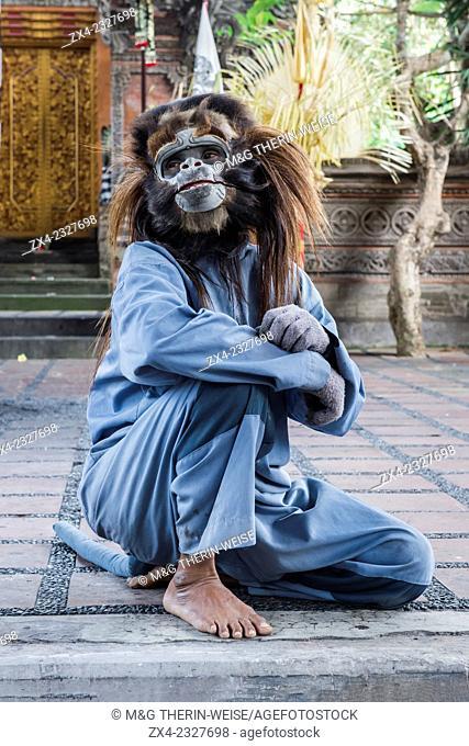 Barong and Kris Dance, Traditional Balinese dance, Ubud, Bali Island, Indonesia