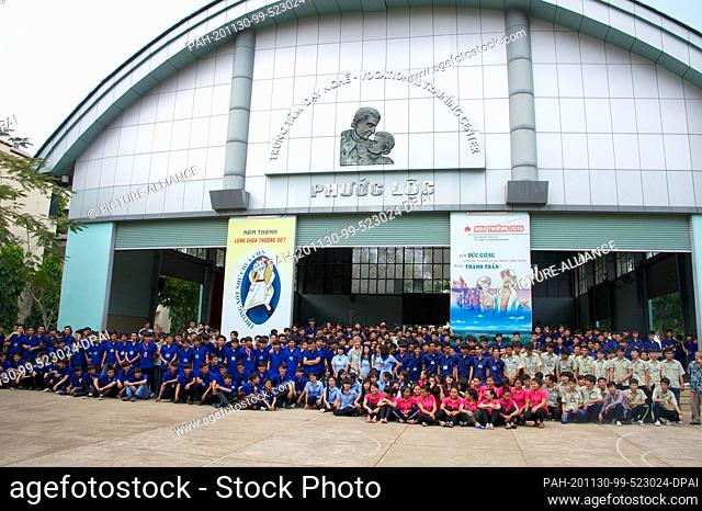 16 March 2016, Vietnam, Ho Chi Minh City: 630 students of the Vocational Training Center Phuoc Loc, a center for job-specific technical training