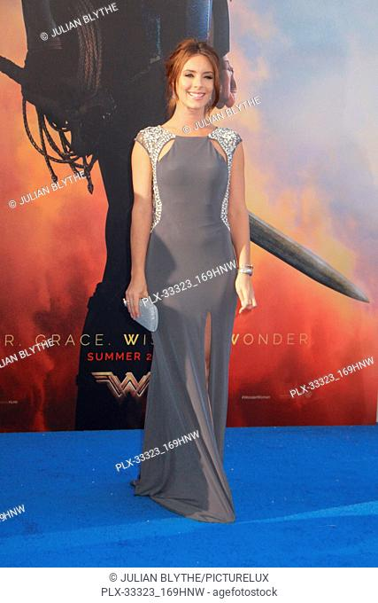 "Amy Pemberton 5/25/2017 World Premiere of """"Wonder Woman"""" held at the Pantages Theater in Los Angeles, CA Photo by Julian Blythe / HNW / PictureLux"