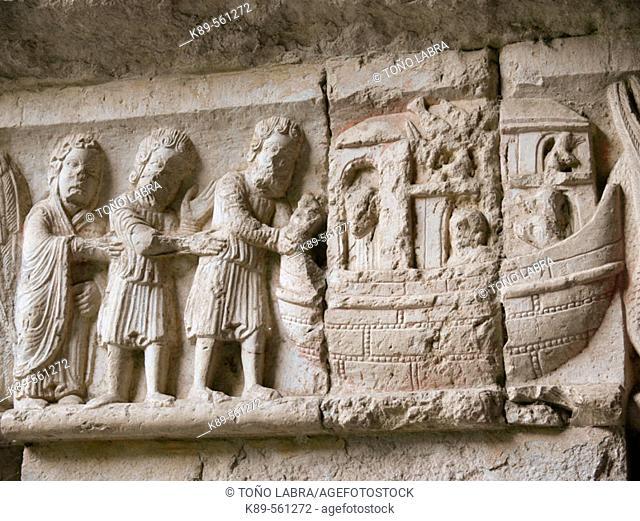 Arca de Noe, Catedral de Girona, Cataluña, España
