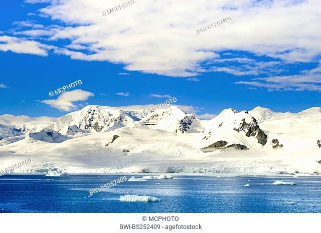 landscape at Antarctica, Antarctica, Neko Cove Harbour