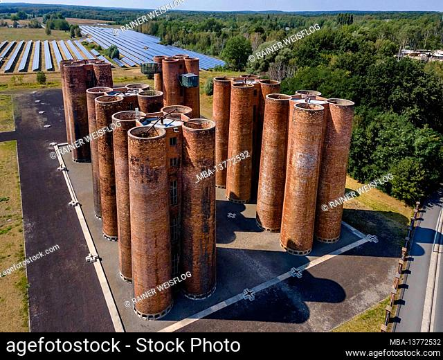 Technical monument in Lauchhammer: Bio towers