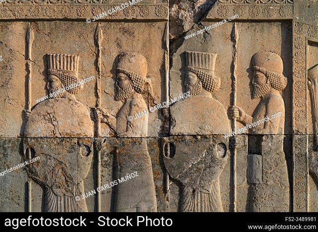 Persepolis, Ceremonial capital of Achaemenid Empire, Fars Province, Iran, Western Asia, Asia, Middle East, Unesco World Heritage Site