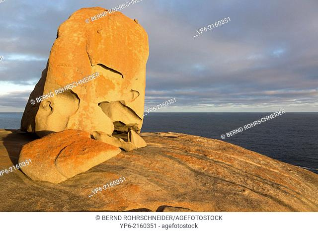 Remarkable Rocks at sunset, Flinders Chase National Park, Kangaroo Island, Australia