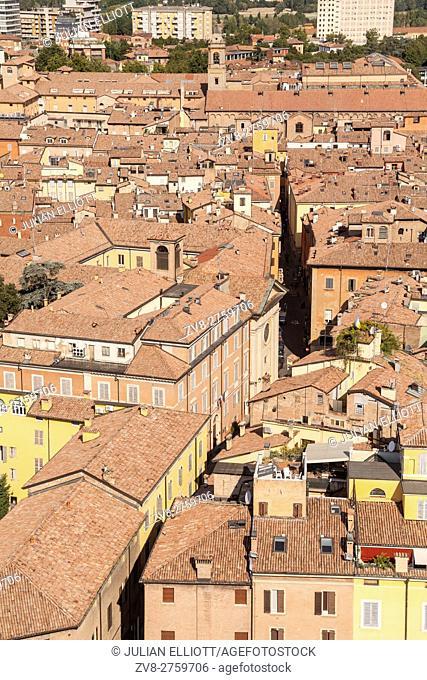 The historic centre of Modena, Italy