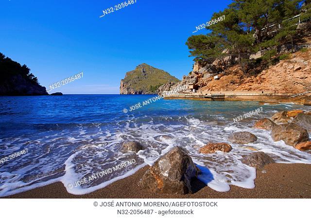 Mallorca, Sa Calobra, Escorca, La Calobra Cala, Torrent de Pareis, Serra de Tramuntana, UNESCO World Heritage Site, Mallorca Island, Majorca, Balearic Islands