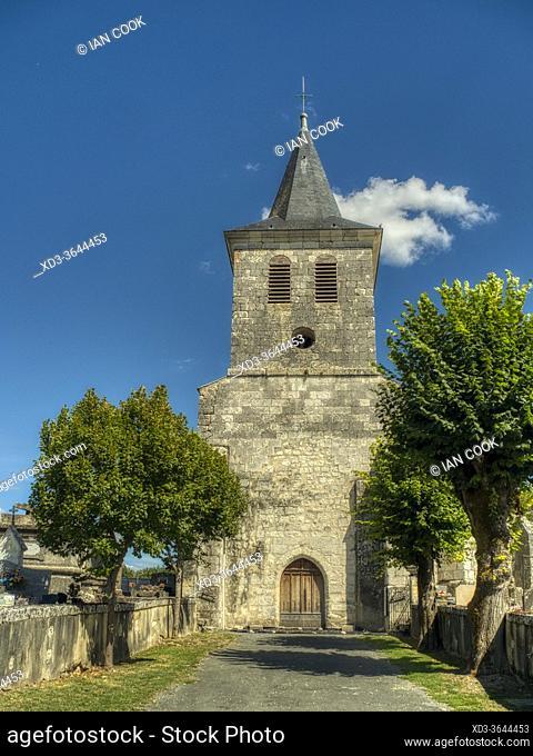 Church of Christ, Eyrenville, Lot-et-Garonne Department, Nouvelle Aquitaine, France