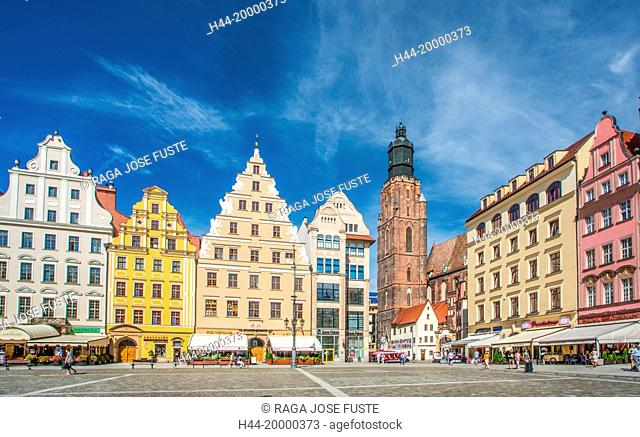 Market Square in Wroclaw City