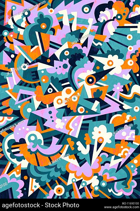 Full frame abstract pattern