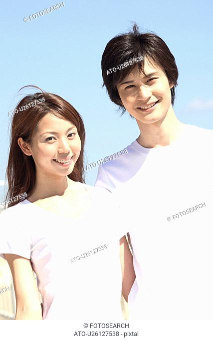 Japanese couple in Shonan area