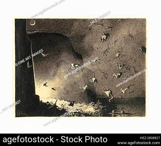 Hell Gate, 1916. Creator: Sedlacek, Franz (1891-1945)