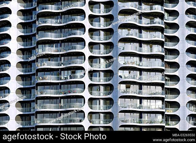 Modern architecture, Sluseholmen, Copenhagen, Denmark, Europe