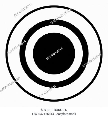 Radio signal symbol connect icon black color vector illustration flat style simple image