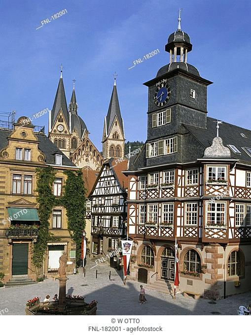 Cathedral in town, Hesse, Germany