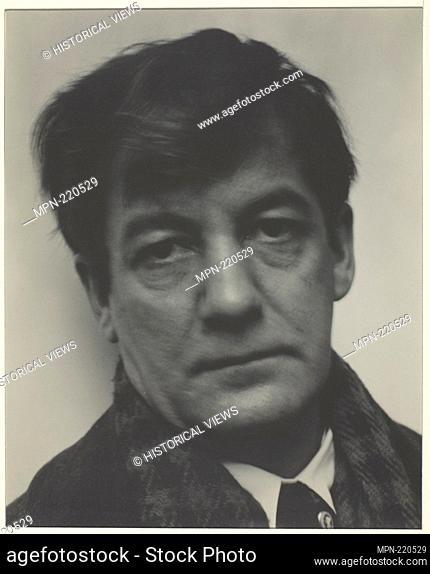 Sherwood Anderson - 1923 - Alfred Stieglitz American, 1864-1946 - Artist: Alfred Stieglitz, Origin: United States, Date: 1923, Medium: Gelatin silver print