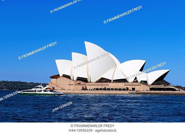 Australia, sea, New South Wales, opuses House, Sydney, opera-house, architecture