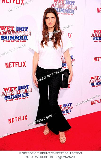 Lake Bell at arrivals for Netflix's WET HOT AMERICAN SUMMER: FIRST DAY OF CAMP Premiere, The School of Visual Arts (SVA) Theatre, New York, NY July 22, 2015