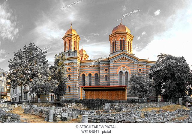 "Constanta, Romania â. "" 07. 09. 2019. The Cathedral of Saints Peter and Paul in Constanta on the Romanian Black Sea Resort"