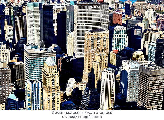 New York City, Manhattan, Skyline