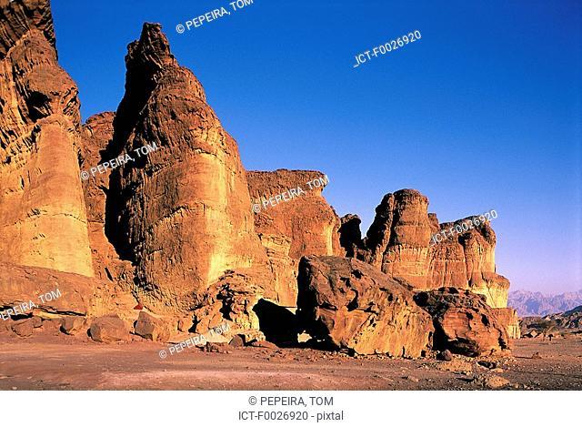 Israel, Eilat vicinity, Negev desert, Timna Park