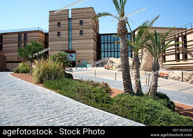 Lorca, castle and Parador de Turismo. Murcia, Spain